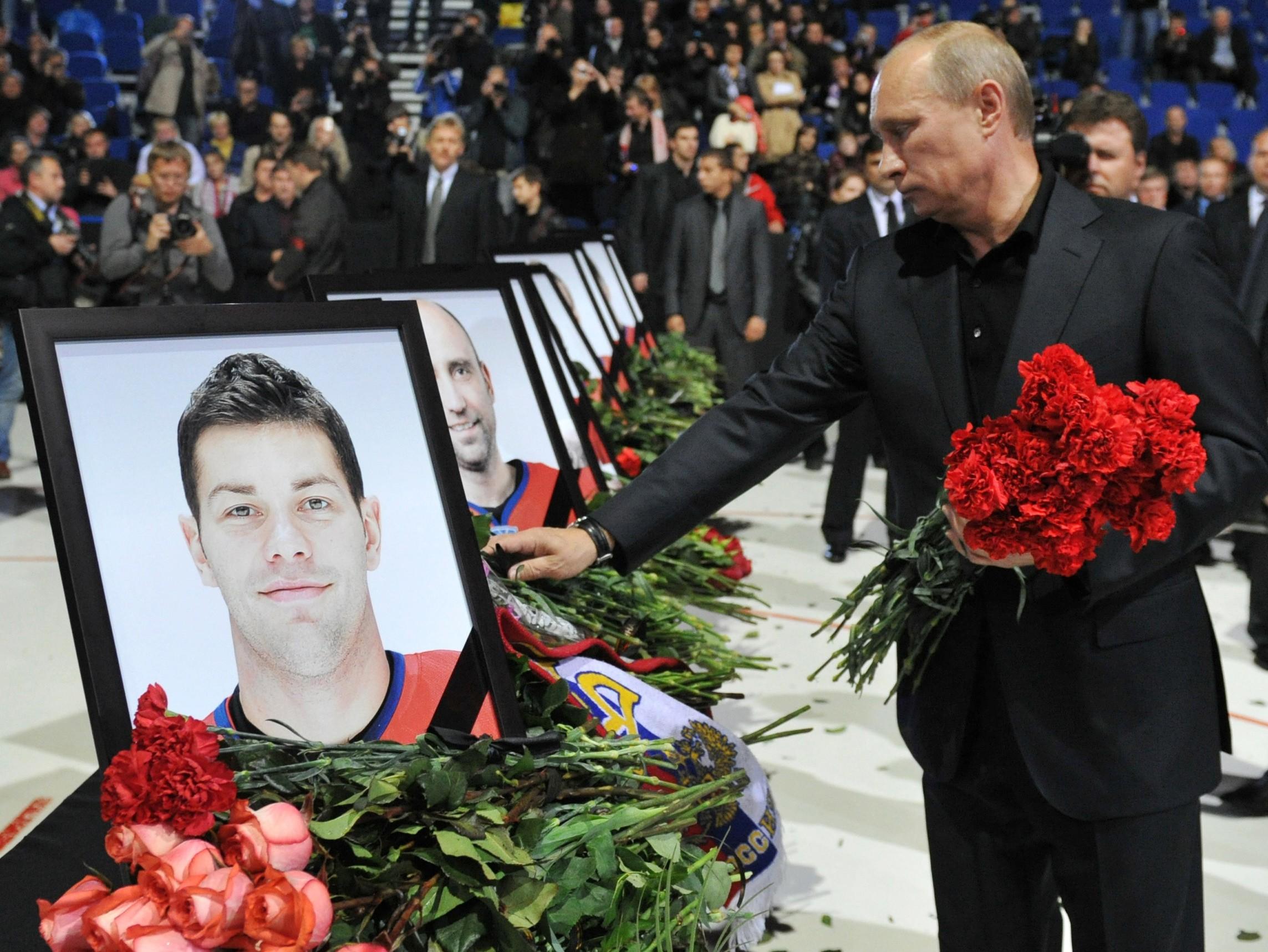 Фото погибших хоккеистов ярославля в авиакатастрофе 3