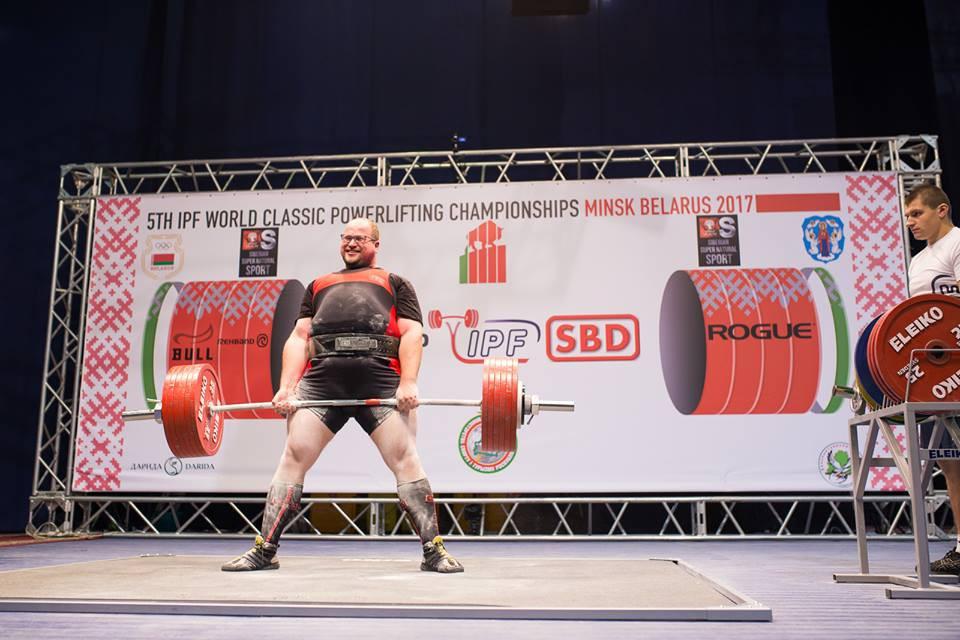 putnim mazā bronza pasaules čempionātā pauerliftingā spēka sports