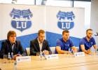 Foto: LU basketbola sistēma augstskolas dzimšanas dienā aizvada preses konferenci