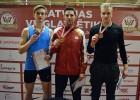 Foto: Edgars Eriņš kļūst par seškārtējo Latvijas čempionu daudzcīņās telpās