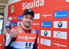 Foto: Pasaules kausā Latvijai atnes bronzu stafetē