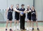 Ogres pilsētas svētkos basketbolu spēlēs Valsts prezidents