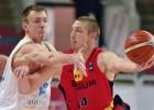 Beļģi atspēlē 14 punktu deficītu un aizsūta mājās Ukrainu