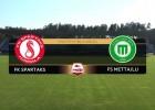 Video: Synottip futbola virslīga: FK Spartaks Jūrmala - FS Metta/LU. Spēles ieraksts