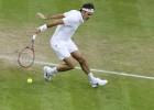 Federeram ceturtdaļfinālā pirmais grūtais pārbaudījums mačā pret Čiliču