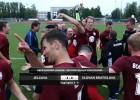 Video: ''Jelgava'' sagrauj slovākus un iesoļo 3. kārtā
