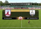 Video: SynotTip futbola Virslīga: FK Jelgava - BFC Daugavpils. Spēles ieraksts