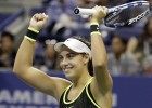 """Konjuha pārspēj Radvaņsku un pirmoreiz iekļūst """"Grand Slam"""" ceturtdaļfinālā"""