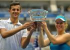 """""""US Open"""" jauktajās dubultspēlēs uzvar Zīgemunda un Pavičs"""