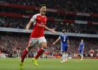 ''Arsenal'' iesit trīs vārtus puslaikā un grauj ''Chelsea''