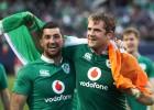 Īrija šokē regbija pasauli un pārspēj Jaunzēlandi