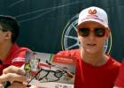 """Arī """"Ferrari"""" vēlas parakstīt līgumu ar Miku Šūmaheru"""