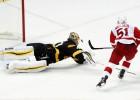 ''Red Wings'' atspēlējas no 1:4 un pieveic Bostonu