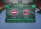 Video: Deivisa kauss tenisā. Latvija - Norvēģija: R.Mednis - S.S.Bratholms. Spēles ieraksts