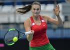 """Baltkrievijas tenisistes pirmoreiz sasniedz """"Fed Cup"""" pusfinālu"""