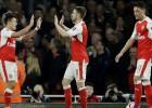 """Brīnumi izpaliek: """"Arsenal"""" bez žēlastības sasit piektās līgas komandu"""