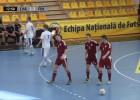 Video: Latvijas telpu futbola izlase noslēdz Eiropas čempionāta kvalifikācijas turnīru ar zaudējumu un bez punktiem