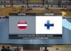 Video: Eiropas čempionāta kvalifikācijas spēle telpu futbolā: Latvija - Somija. Spēles ieraksts