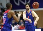 """CSKA arī otrajā spēlē uzveic """"Loko"""" un nonāk uzvaras attālumā no VTB fināla"""