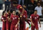 Katara piecu vārtu spēlē uzveic Dienvidkoreju, Zālamana salas iekļūst pārspēlēs