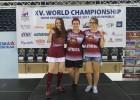 Latvijas sieviešu galda hokeja izlase - Pasaules čempiones