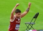 Paraolimpietis Silovs kļūst par Eiropas čempionu šķēpa mešanā
