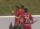 """Video: """"Liepājai"""" sešās minūtēs gūst divus vārtus un uzvar Riga FC"""