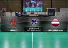 Video: Unihoc Riga Cup florbolā. Heppee- Latvian All Star. Spēles ieraksts