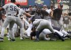"""""""Yankees"""" un """"Tigers"""" sarīko masu kautiņu"""