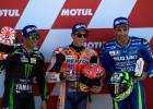"""Markess krīt, bet izcīna <i>pole position</i> izšķirošajā """"MotoGP"""" posmā"""
