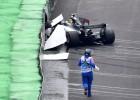Hamiltons kvalifikācijā avarē, Botass pārspēj Fetelu