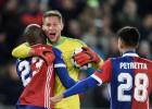 """""""Basel"""" izrauj uzvaru pār """"United"""", Akinfejevam pirmā <i>sausā</i> spēle 11 gadu laikā"""