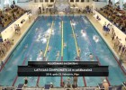 Video: Latvijas čempionāts peldēšanā 25 metru baseinā. Pirmā sacensību diena