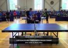 Video: Latvijas klubu čempionāts galda tenisā. Sacensību ieraksts.