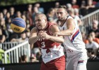 3x3 basketbola Eiropas čempioni latvieši un pasaules čempioni serbi Ventspilī
