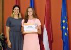 Pirmā uzvara Latvijas kreklā: U14 meitenes Paidē pieveic Igauniju