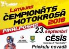 Svētdien Cēsīs tiks noslēgta Latvijas čempionāta sezona motokrosā