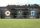 Video: Federācijas kauss futbolā: Latvija U17 - Somija U17