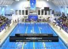 """Video: Starptautiskās peldēšanas sacensības """"Rīgas Sprints 2018"""". 3. novembra rīta sesijas sacensību ieraksts"""