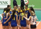 Video: Latvijas sieviešu volejbola izlase piekāpjas Bosnijas un Hercegovinas izlasei