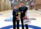 Jaukto pāru kērlinga turnīrā Tallinā titulu izcīna Krievijas komanda