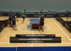 Video: LČ galda tenisā. Sacensību ieraksts