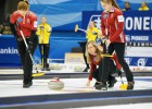 Turpinājumā Latvijai vēl divi zaudējumi PČ kērlingā sievietēm