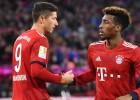 """Kautiņš """"Bayern"""" treniņā – komandas biedriem nākas izšķirt Levandovski un Komanu"""