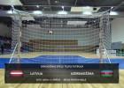 Video: Pārbaudes spēle telpu futbolā: Latvija - Azerbaidžāna