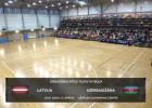 Video: Otrā pārbaudes spēle telpu futbolā: Latvija - Azerbaidžāna