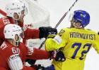 Zviedrija turpina būvēt NHL sastāvu: piekrīt arī Bļugera komandas biedrs Hērnkvists