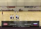 Video: Latvija U19 - Krievija U19  Pārbaudes spēle telpu futbolā. Pilns ieraksts