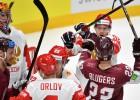 Līdzvērtīgā spēlē pret Krieviju latviešus atkal iegāž otrais periods