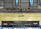 Video: Latvija U19 - Krievija U19 Pārbaudes spēle telpu futbolā. Spēles ieraksts